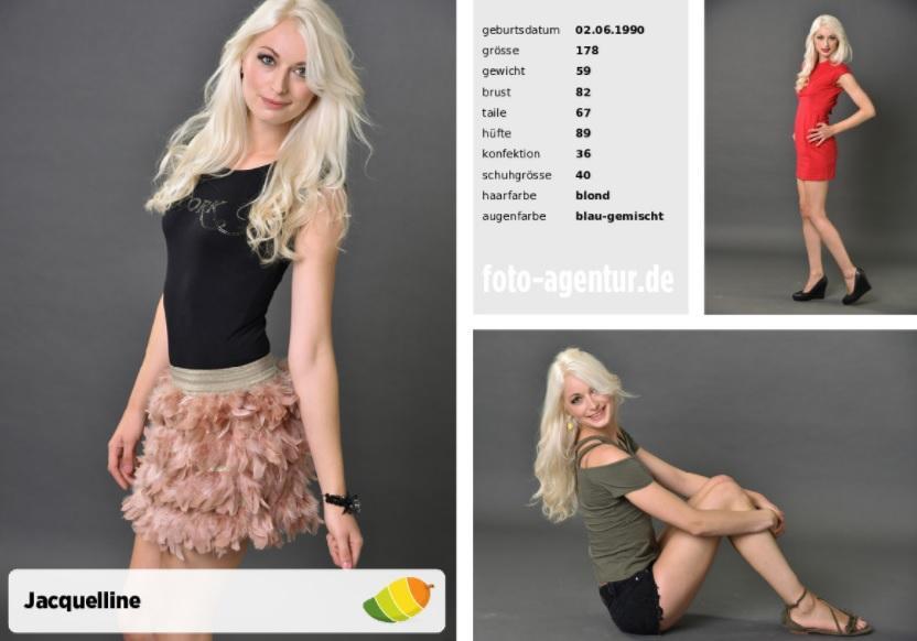 Model der Woche Jacqueline aus Wiesbaden, Testshooting Frankfurt